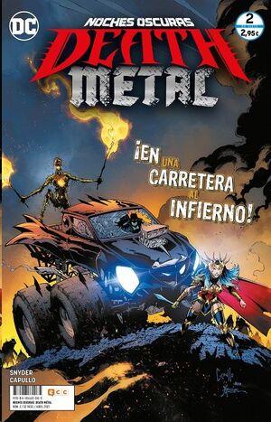 NOCHES OSCURAS: DEATH METAL #02 (GRAPA)