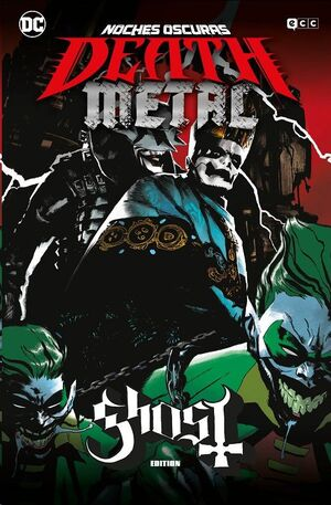 NOCHES OSCURAS: DEATH METAL #02 (GHOST BAND EDITION - CARTONE)