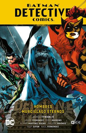 BATMAN SAGA: BATMAN DETECTIVE COMICS V7. HOMBRES MURCIELAGO ETERNOS