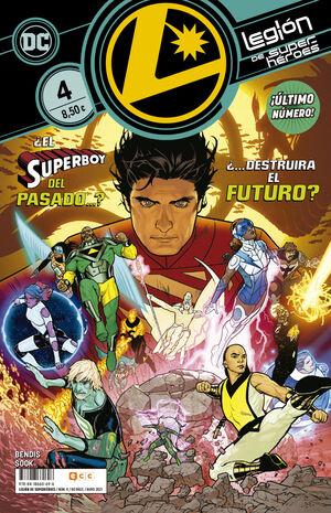 LEGION DE SUPERHEROES #04 (ECC)