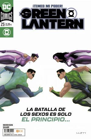 EL GREEN LANTERN #107 / 025 (GRANT MORRISON)