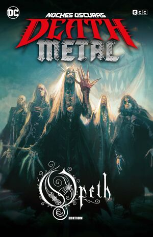 NOCHES OSCURAS: DEATH METAL #04 (LACUNA COIL BAND EDITION - RUSTICA)