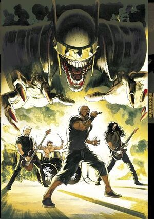 NOCHES OSCURAS: DEATH METAL #05 (SEPULTURA BAND EDITION) (CARTONÉ)