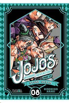 JOJO'S BIZARRE ADVENTURE PARTE 6: STONE OCEAN #08