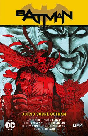 BATMAN SAGA VOL. 12 . JUICIO SOBRE GOTHAM - RENACIDO 8