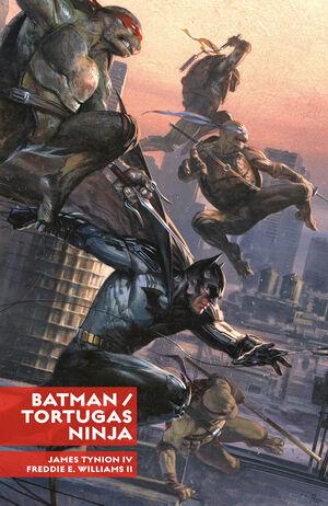 BATMAN /TORTUGAS NINJA ( INTEGRAL )