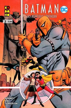 BATMAN: LAS AVENTURAS CONTINÚAN #02