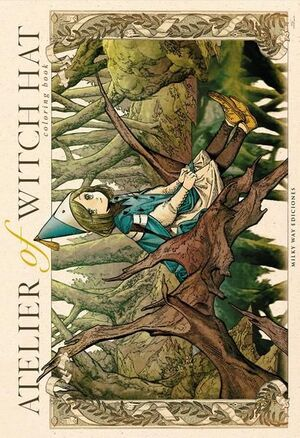ATELIER OF THE WITCH HAT COLORING BOOK