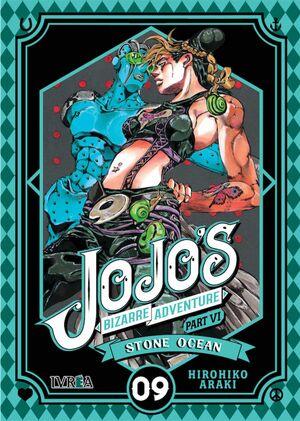 JOJO'S BIZARRE ADVENTURE PARTE 6: STONE OCEAN #09