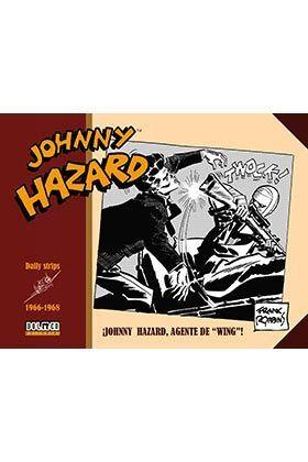 JOHNNY HAZARD 1964-1966. JOHNNY HAZARD, AGENTE DE WING!