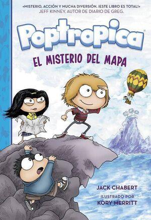 POPTROPICA #01: EL MISTERIO DEL MAPA