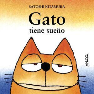 GATO TIENE SUEÑO