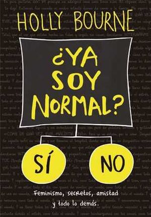 CLUB DE LAS SOLTERONAS #01. YA SOY NORMAL?