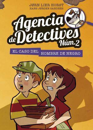 AGENCIA DE DETECTIVES. EL CASO DEL HOMBRE DE NEGRO
