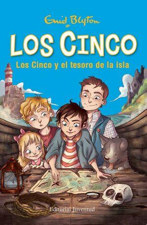 LOS CINCO: LOS CINCO Y EL TESORO DE LA ISLA
