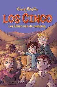 LOS CINCO: LOS CINCO VAN DE CAMPING