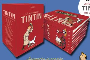 LAS AVENTURAS DE TINTIN. COLECCION COMPLETA