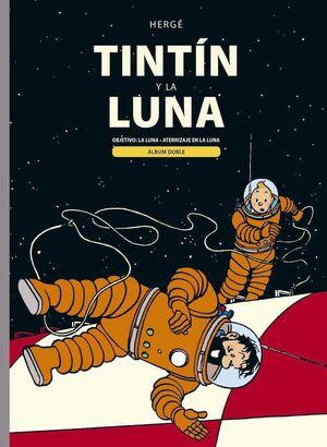 TINTIN Y LA LUNA: ALBUM DOBLE