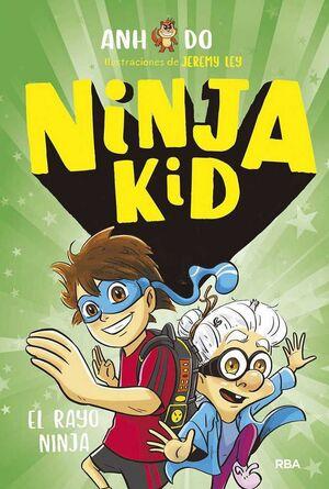NINJA KID #03. EL RAYO NINJA