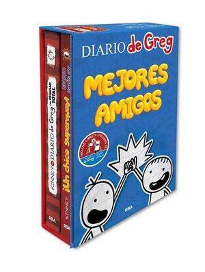 ESTUCHE DIARIO DE GREG. MEJORES AMIGOS