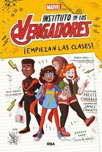 INSTITUTO DE LOS VENGADORES #01. EMPIEZAN LAS CLASES!