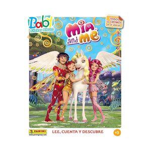 MIA AND ME: LEE, CUENTA Y DESCUBRE. BABY STICKER ALBUM