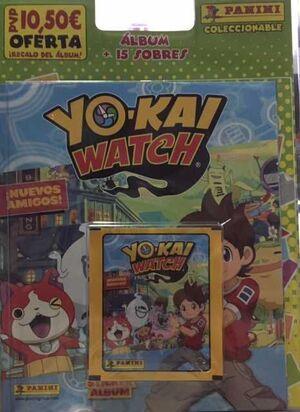 YOKAI WATCH 2: STICKER ALBUM + 15 SOBRES
