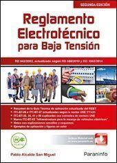 REGLAMENTO ELECTROTECNICO PARA BAJA TENSION EDICION 2015