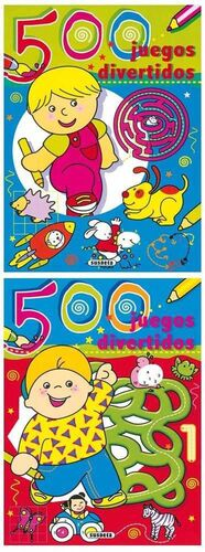 500 JUEGOS DIVERTIDOS (2 TITULOS DIFERENTES)