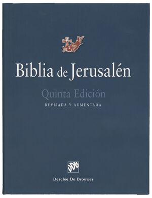 BIBLIA DE JERUSALEN. 5ª EDICION REVISADA Y AUMENTADA