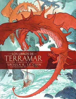 LOS LIBROS DE TERRAMAR. EDICION COMPLETA E ILUSTRADA