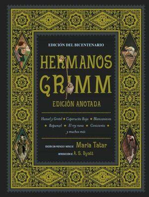 HERMANOS GRIMM EDICION ANOTADA