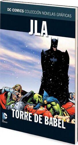 COLECCIONABLE DC COMICS #004 LIGA DE LA JUSTICIA: TORRE DE BABEL