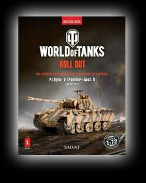 COLECCIONABLE WORLD OF TANKS ROLL OUT (COLECCION OFICIAL) #01