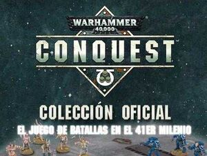 WARHAMMER 40000 CONQUEST COLECCION OFICIAL #077.