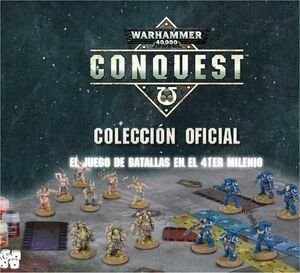 WARHAMMER 40000 CONQUEST COLECCION OFICIAL #080.