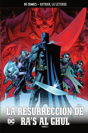 COLECCIONABLE BATMAN LA LEYENDA #45 LA RESURRECCION DE RA´S AL GHUL - PARTE 1