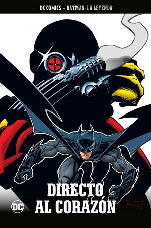 COLECCIONABLE BATMAN LA LEYENDA #60 DIRECTO AL CORAZON