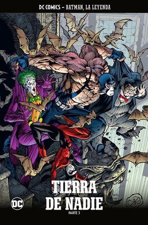 COLECCIONABLE BATMAN LA LEYENDA #63. TIERRA DE NADIE PARTE 3