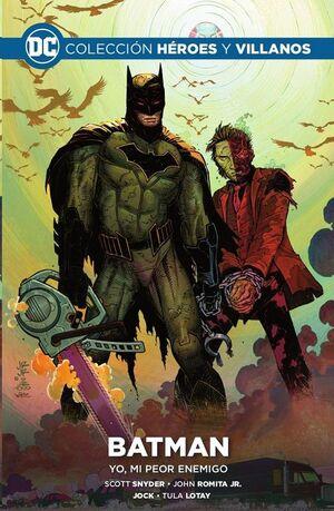 COLECCIONABLE HEROES Y VILLANOS #08 BATMAN YO MI PEOR ENEMIGO