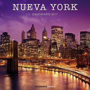 CALENDARIO 2017 NUEVA YORK