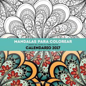 CALENDARIO 2017 MANDALAS PARA COLOREAR