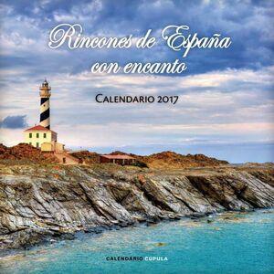 CALENDARIO 2017 RINCONES DE ESPAÑA CON ENCANTO