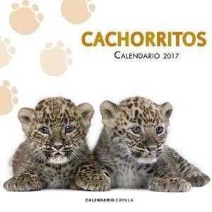 CALENDARIO 2017 CACHORRITOS