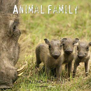 CALENDARIO 2021 ANIMAL FAMILY