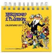 CALENDARIO SOBREMESA 2011 MORTADELO Y FILEMON