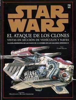 STAR WARS. ATAQUE DE LOS CLONES. VISTA EN SECCION DE VEHICULOS Y NAVES