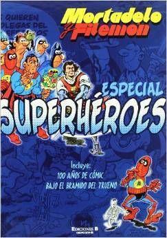 MORTADELO Y FILEMON ESPECIAL SUPERHEROES