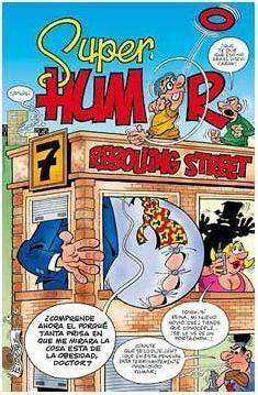 SUPER HUMOR 48. 7, REBOLLING STREET