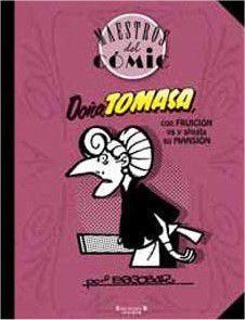 MAESTROS DEL COMIC #02 DOÑA TOMASA CON FRUICIÓN VA Y ALQUILA SU MANSIÓN